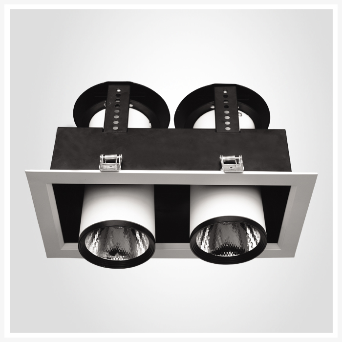 led pull-out spot lights