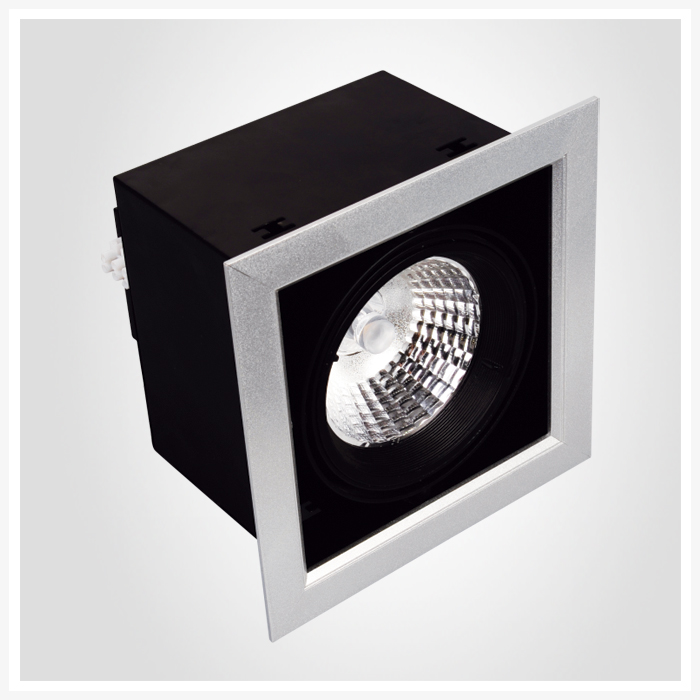 led grille light 3 in 1 head